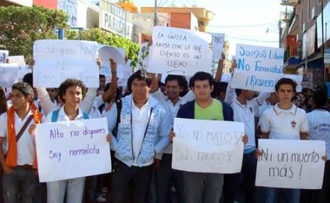 Violaciones de DH cometidas en contra de estudiantes de la normal rural Raúl Isidro burgos, en Iguala, Guerrero
