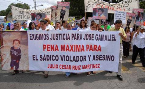Pedimos justicia por el homicidio del menor Gamaliel García López