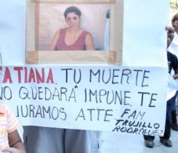 Feminicidio de Tatiana Trujillo en Impunidad
