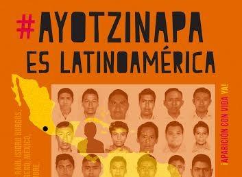 #Ayotzinapaeslatinoamerica #43convidaya