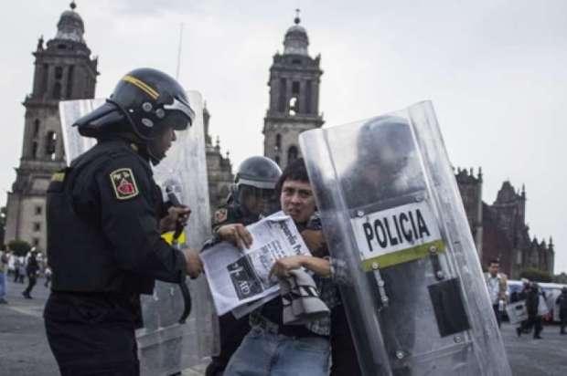 POBREZA Y ESCASEZ DE EVIDENCIA EN ACUSACIONES DE PGR EN CONTRA DE PERSONAS DETENIDAS EL #20NovMx