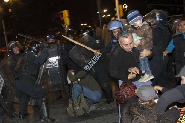 La Red TDT condena las agresiones de las fuerzas de seguridad del Estado a las personas que ejercían su derecho a la libertad de expresión y protesta social