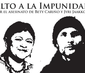 Acoso contra testigos del homicidio de un defensor y una defensora de los derechos humanos