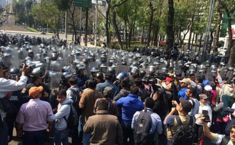 ONG de Oaxaca exigen cese represión en Guerrero y manifiestan solidaridad