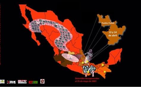 """Gira Nacional """"Desaparición forzada"""