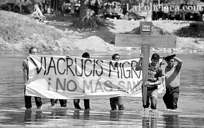 Preocupan a Codemire operativo contra Viacrucis y abusos contra migrantes