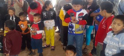Oaxaca | Niños desplazados son acompañados para regresar a Nochixtlán