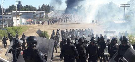 Organizaciones de Guerrero condenan actuación federal en Oaxaca