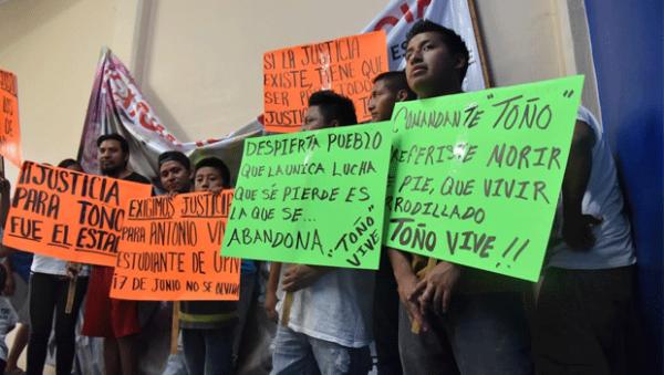 Tlachinollan | Sin investigación ejecución extrajudicial del estudiante Antonio Vivar Díaz