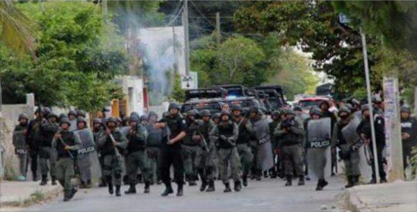 Indignación | Informe a un mes del ataque contra el pueblo de Chablekal