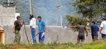 La represión a la sociedad civil solidaria y al magisterio, expresión autoritaria del Estado mexicano.