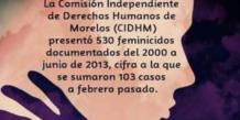 CIDH Morelos | A un año de la Alerta de Violencia de Género en Morelos continúa el feminicidio