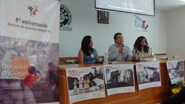 Presentación Campaña #DefenderEs en Pachuca