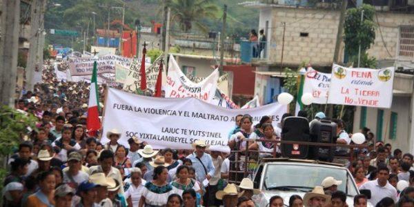 ALTO A LA VIOLENCIA E INSEGURIDAD EN LA CABECERA MUNICIPAL DE CHILÓN,