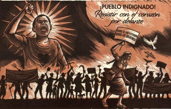 """Presenta Tlachinollan informe anual """"¡Pueblo Indignado! Resistir con el corazón por delante!"""