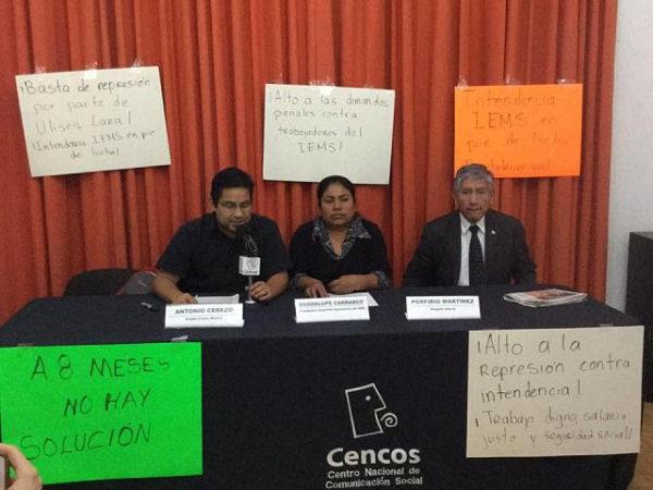 Comité Cerezo | Trabajadoras injustamente despedidas del #IEMS exigen justicia a la JLCyA