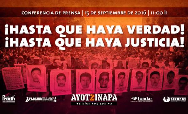 Familias de Ayotzinapa se posicionan sobre renuncia del director de AIC