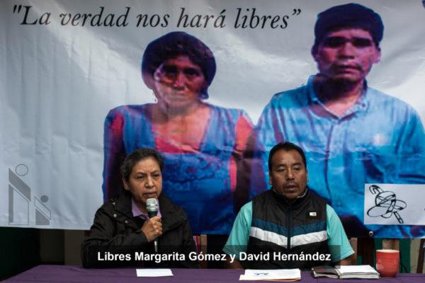 CDH Frayba | Libres Margarita Gómez y David Hernández
